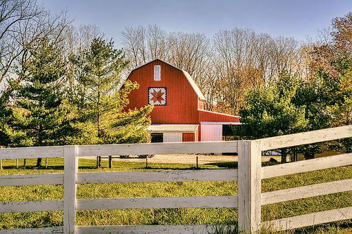 Barn, Rustic, Barns, Quilt, Quilt Barn, Ohio