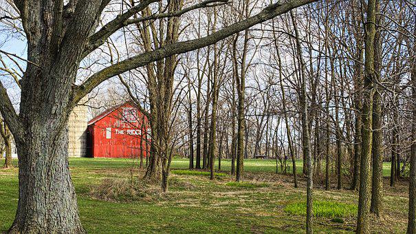 Barn, Rustic, Barns, Ohio, Digital Art, Rural, Scenic