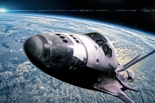 Space Shuttle, Space, Sci Fi, Science Fiction, Forward