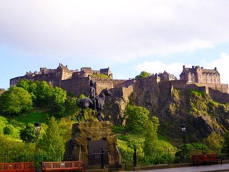 Edinburgh Castle Scotland, Scotland, Edinburgh, Castle