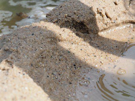 Sand, Water, Sea, Beach, Holiday, Nature, Beach Sand
