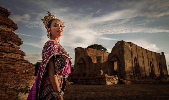 Thai People, Thailand, Ancient, Thailand Sets