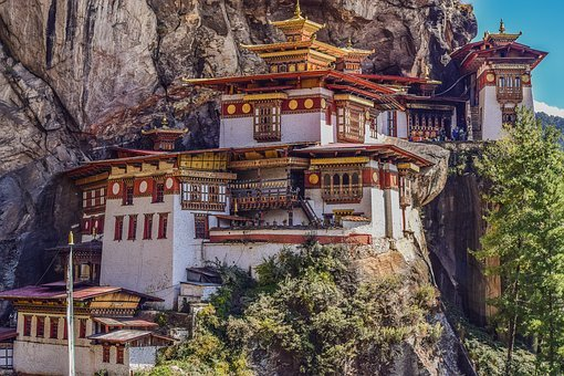 Tigers Nest, Monastery, Bhutan, One Of A Kind, Unique