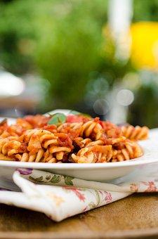 Pasta, Tomato Sauce, Italian Pasta