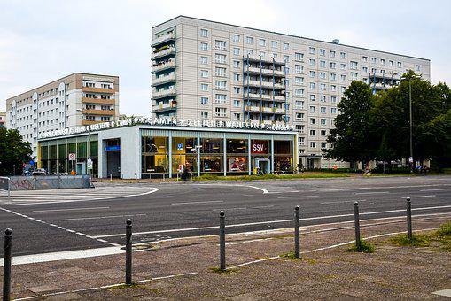 Berlin, Modern Architecture, 60s, 70th Years, Facade