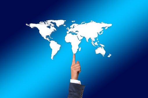 Balance, Balancing Act, Finger, Businessman, World