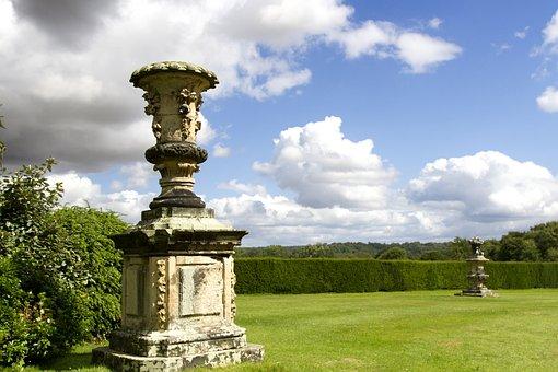 Stately Home, Castle Howard, Yorkshire, England
