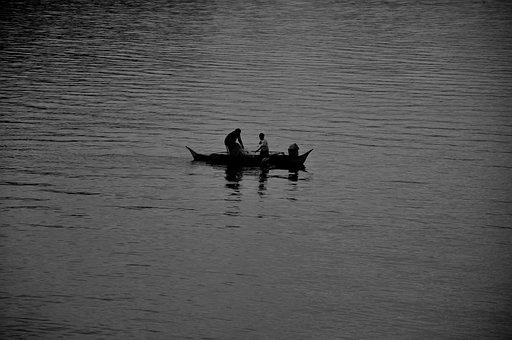 Boating, Fishing, Fishing Boat, Fish, Fisherman, Vessel