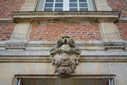 Grotesque, Architecture, France, Castle, Heritage