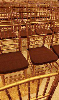 Chairs, Party, Event, Celebration, Hall