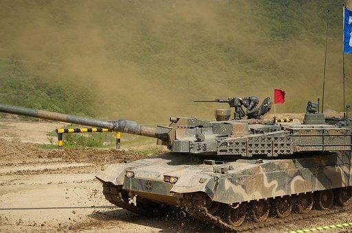 Korea, Republic Of Korea, Tank, Nature, War, Weapons