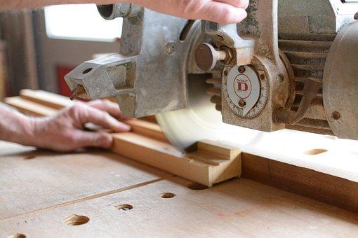Machine, Wood, Retro Work, Saw, Carpentry, Workshop