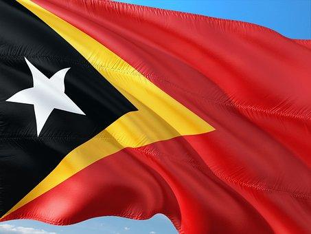International, Flag, East Timor, South East Asia