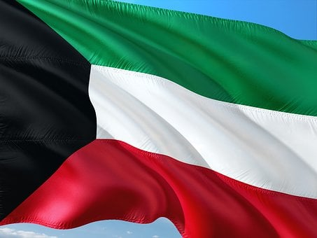 International, Flag, Kuwait, The Emirate Of Kuwait