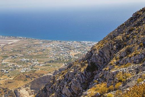 Santorini, Greece, Landscape, Tourism, The Coast