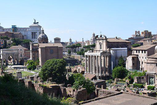 The Roman Forum, Ancient Rome, History, Old Buildings