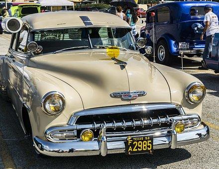 Classic Car, Chevy, Automobile, Auto, American, Classic