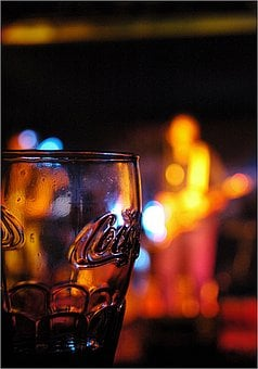Band, Music, Color, Glass, Cola, Musician, Live Music