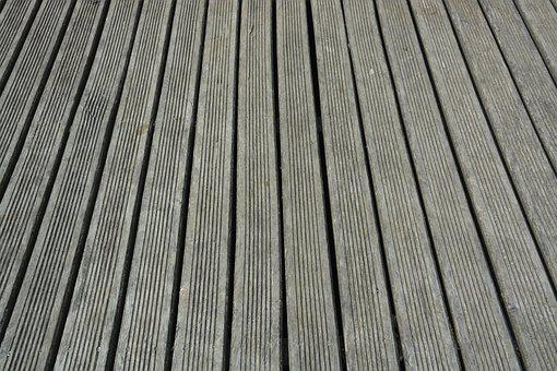 Planks Of Wood, Strips Of Wood, Terrace, Blades Wood