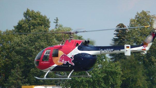 Helicopter, Start, Propeller, Sky, Fly, Copter, Pilot