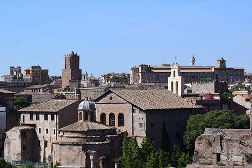 Rome, Italia, Monuments, Ancient Times