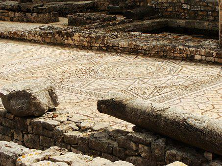 Mosaic, Mosaic Tiles, Floor, Ancient, Decorative