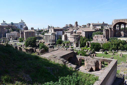 The Roman Forum, Rome Monument, History, Old Buildings