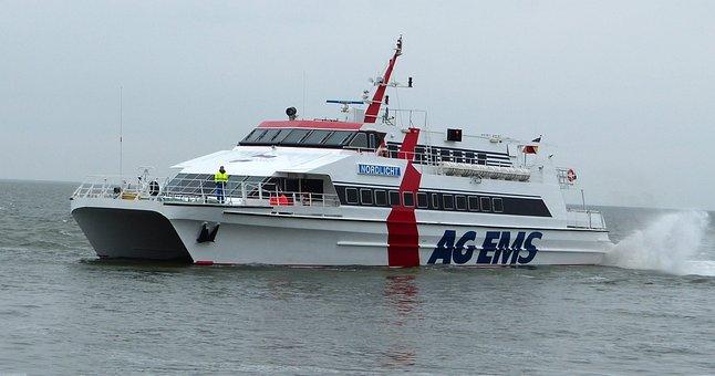 Catamaran, Speedboat, Motor Catamaran, Planing Hulls