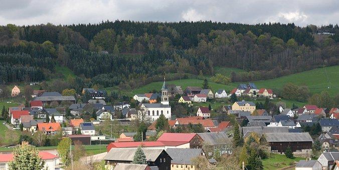 Saupsdorf, Village, Watch Mountain