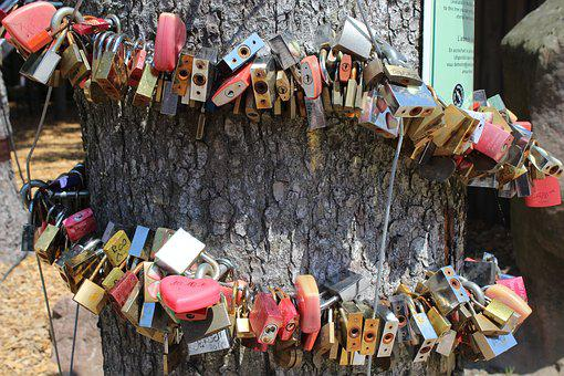 Wedding, For Ever, Castle, Security Lock, Padlock, Love