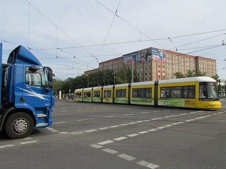 Tram, Berlin, Bvg, Capital, Junction