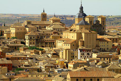 Toledo Spain, Church, Homes, Medieval, Architecture