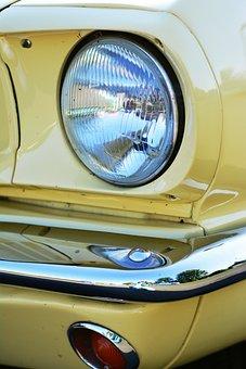 Spotlight, Oldtimer, Auto, Classic, Old, Automotive