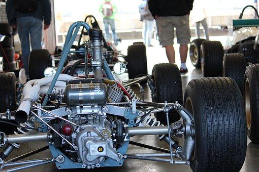 Racing Car, F1, Motorsport, Motor