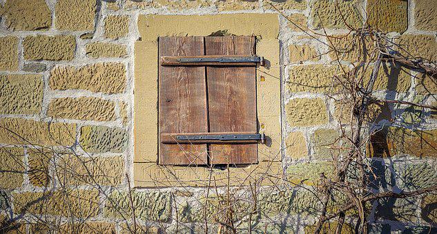 Old Window, Window, Wood, Wooden Windows, Shutters, Old