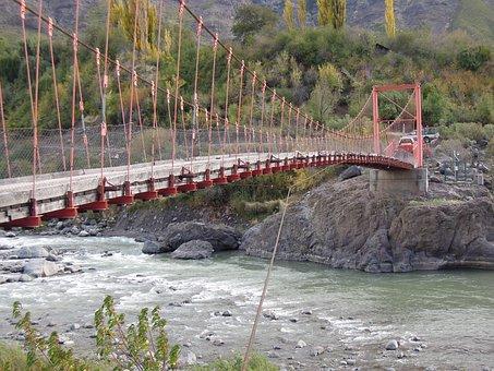 The Melado Valley, Region Vii, Chile