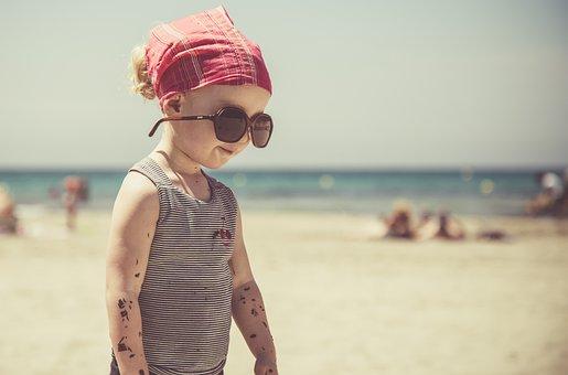 Beach, Child, Sea, Sand, Summer, Games, Holiday, Fun