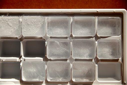 Ice, Cold, Water, Frozen, Freezer, Fridge