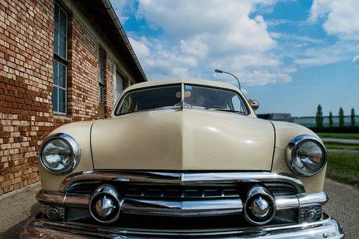 Shoebox, Shoebox Ford, Oldtimer, Custom, 1951, V8
