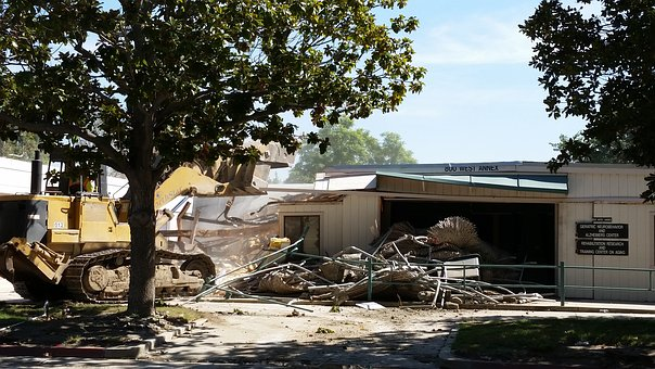 Construction, Demolish, Wreck, Demolition, Destroy