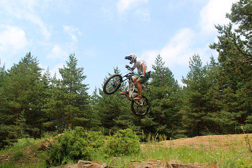 Jump, Extreme, Wheel, Views, Helmet, Green
