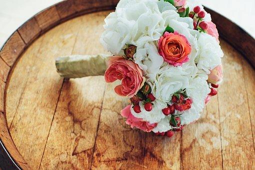 Wedding, Flower, Bouquet, Beauty, Style, Stylish, Bride