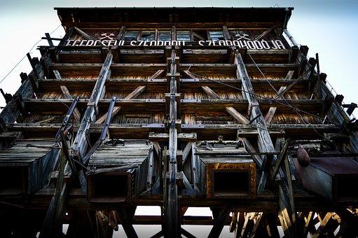 Coal Loader, Wood, Industrial, Industry, Coal, Loader
