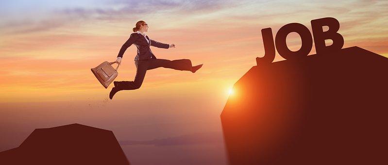 To Reach, Job, Sun, Leap, Mountain, Business, Season