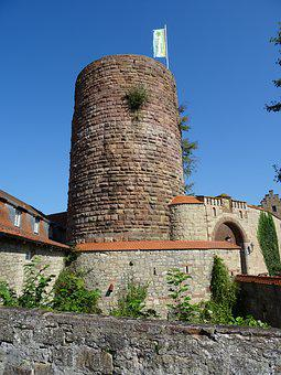 Keep, Tower, Castle, Middle Ages, Knight's Castle