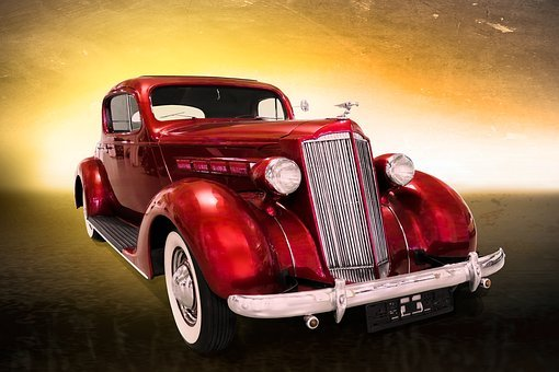 Traffic, Vehicle, Auto, Oldtimer, Packard, Automotive