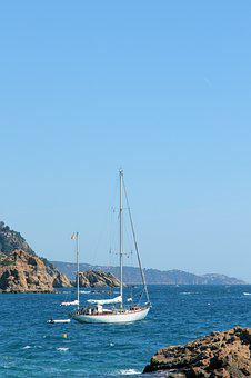 Yacht, Bay, Sea, Boat, Summer, Water, Travel, Blue