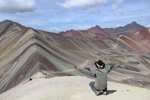 Vinicunca, Rainbow, Mountain, Adventure, Andes, Cusco