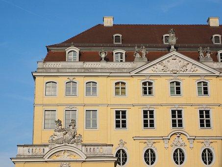 Coselpalais, Dresden, Home, Building, Neumarkt