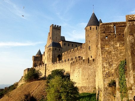 Castle, Knights, Fortress, Walls, History, Barrier